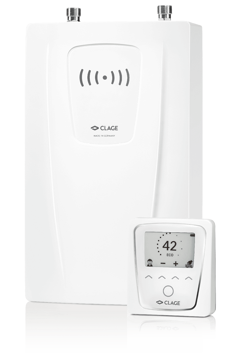 E-compact instant water heaters for kitchens