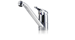 Vented taps for kitchen sinks EKM