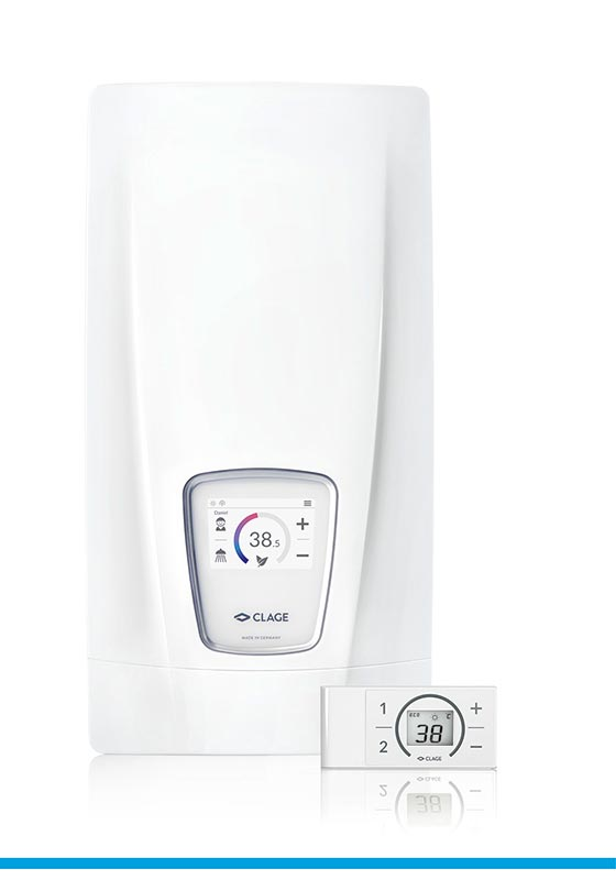 E-comfort instant water heater DSX Touch