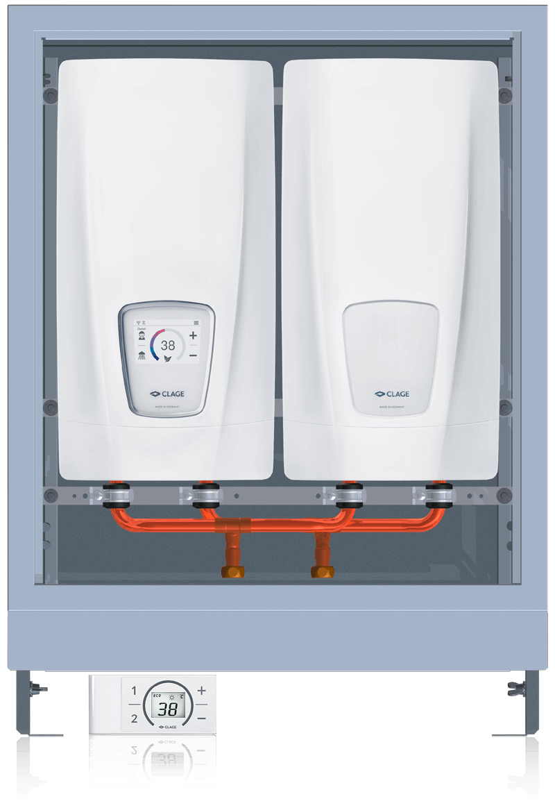E-comfort instant water heater DSX Touch Twin
