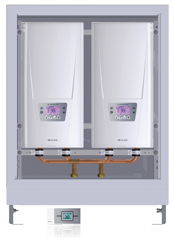 E-comfort instant water heater DSX Twin