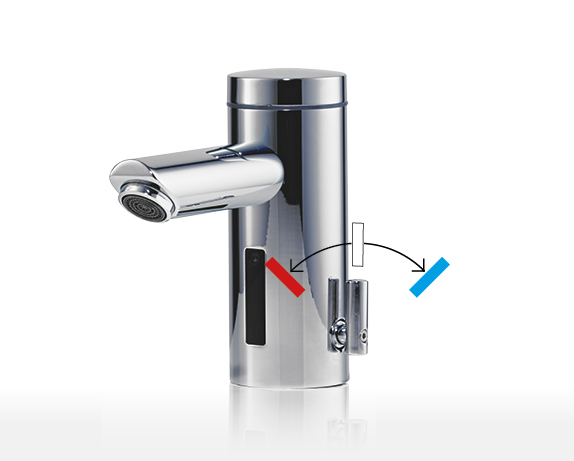 Awards E-mini instant water heater with tap MBX Lumino