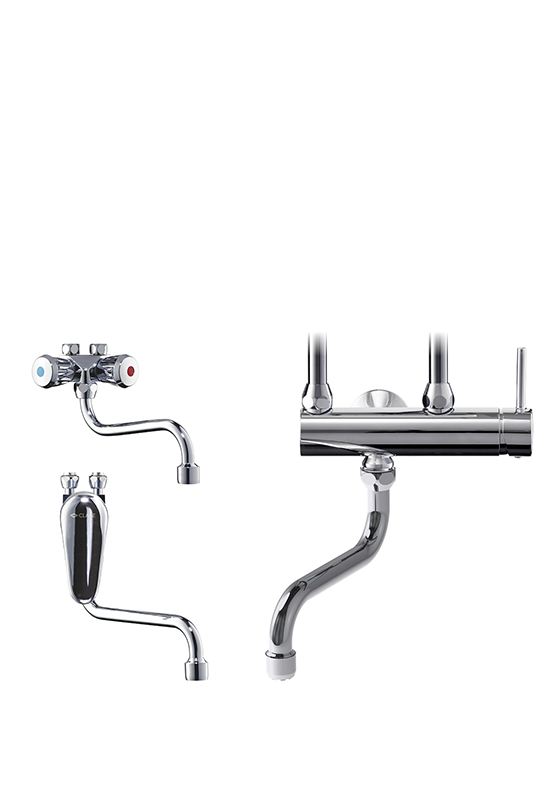 Vented taps for disposal sinks SMB, SME, CSO, SNO, SSO