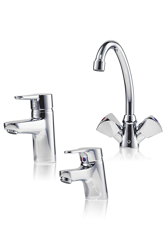 Vented taps for washbasins END, EWT, SNM, SNT