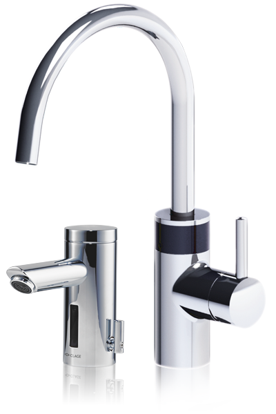 Sensor taps <nobr>for washbasins</nobr> AEN, AEN-C, AEB, AEB-C